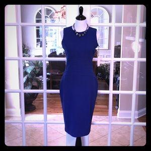 🆕 Ivanka Trump Blue Midi Dress